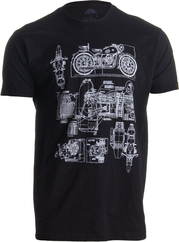 M-72 Motorcycle Engine Mechanic Art T-Shirt