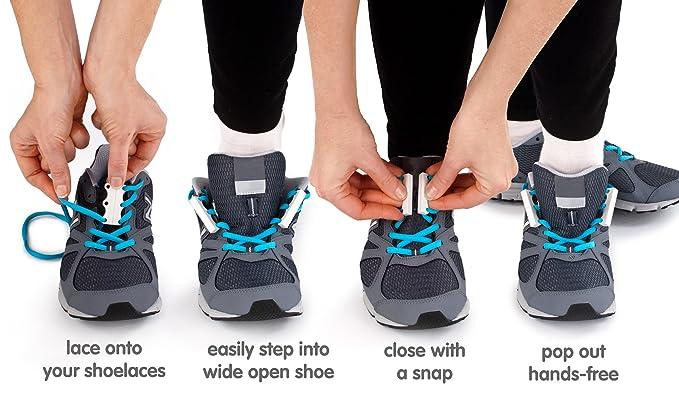 zubits Magnetische Schuhbinder Verschlusssystem für Schuhe und Schnürsenkel Schuhverschluss