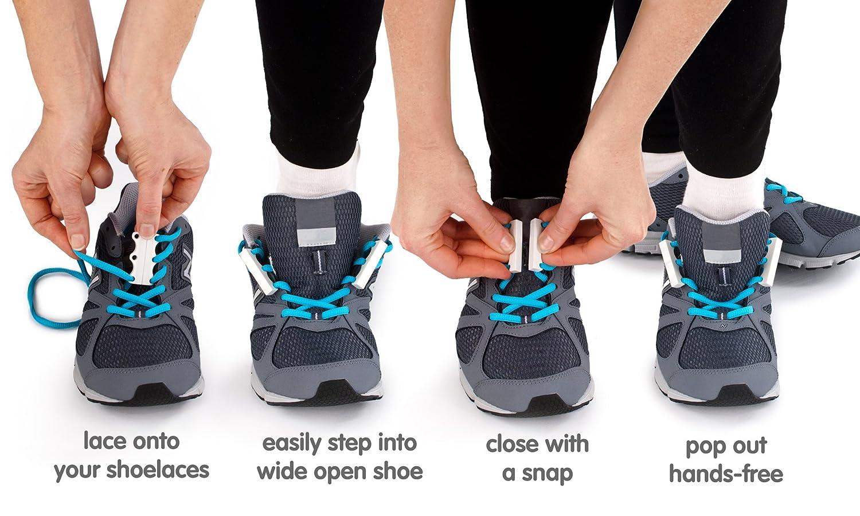 6186b114e70e Zubits Magnetic Shoe Closures Unisex 'Never Tie Laces Again' - Sizes 1, 2 &  3 in 12 different colors! ORIGINAL 2.0!: Amazon.co.uk: Shoes & Bags