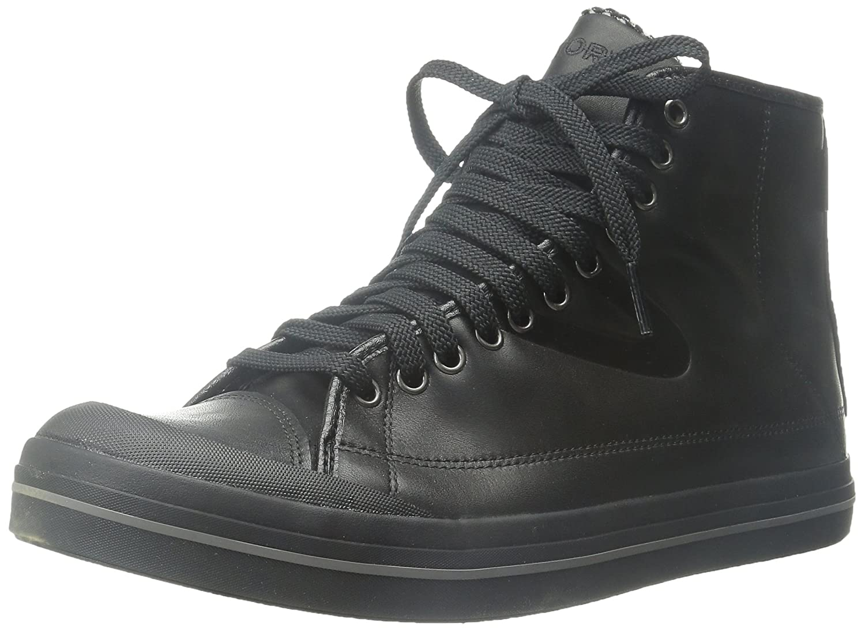 Tretorn Men's Skymra Court GTX Leather Fashion Sneaker B00XVKLJ1A 7 D(M) US|Black