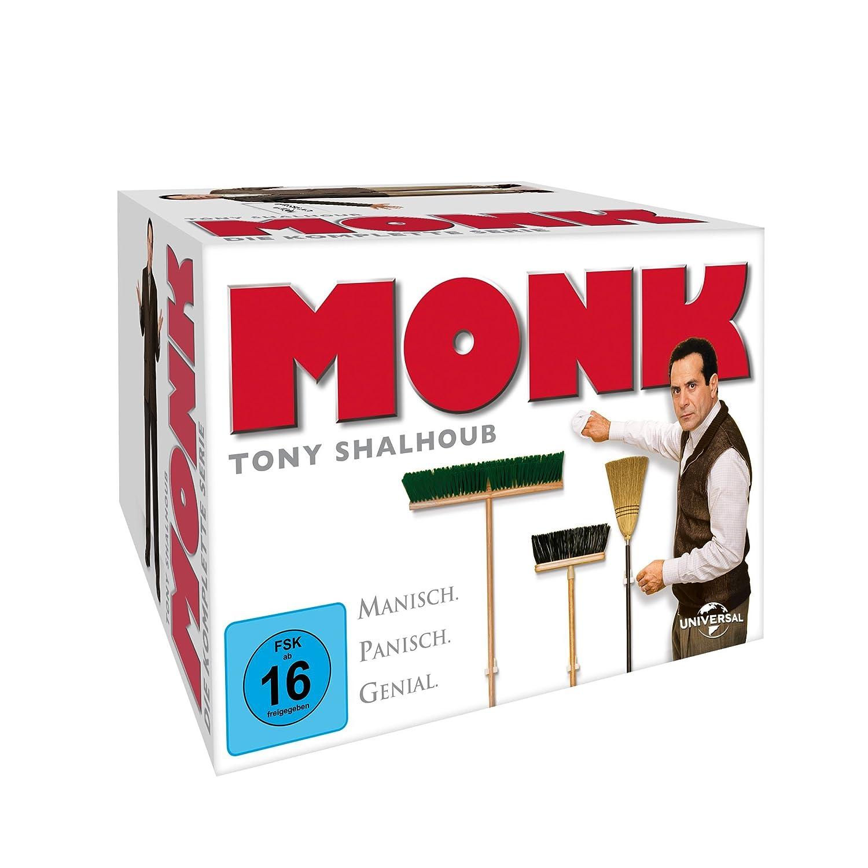 Monk – die komplette Serie