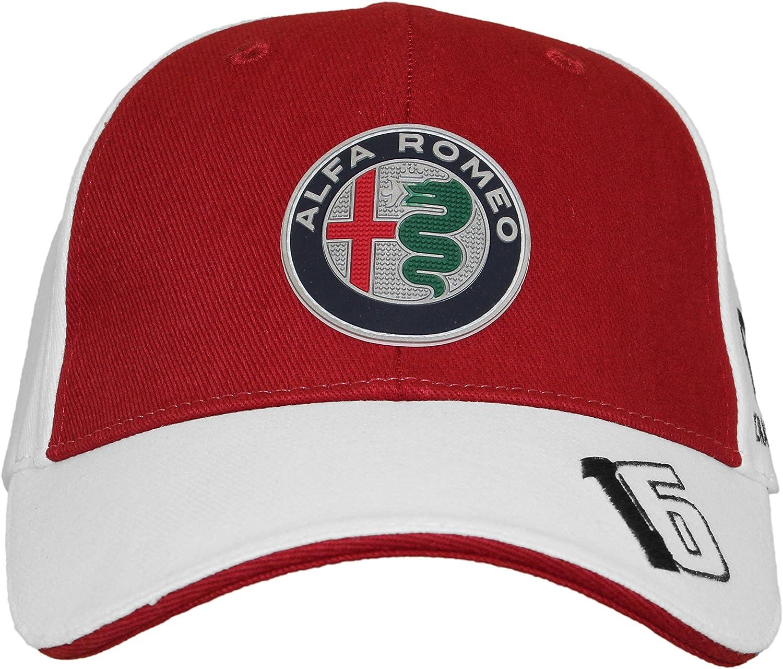 CAPPELLINO CAPPELLO ALFA ROMEO SAUBER F1 TEAM 2018 CAP HAT