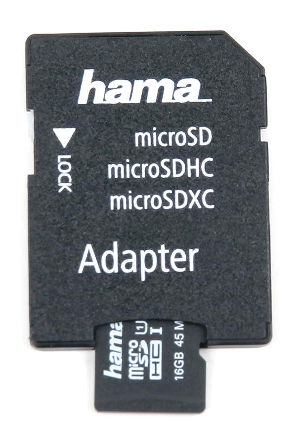 DURAGADGET Tarjeta de Memoria Micro SD HC 16 GB para Reloj ...