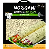 Norigami Egg Wraps Pea Protein -High Protein,Low Carb,Vegetarian Thin Healthy Wrap for Sandwiches - Ready To Fill And Serve-C