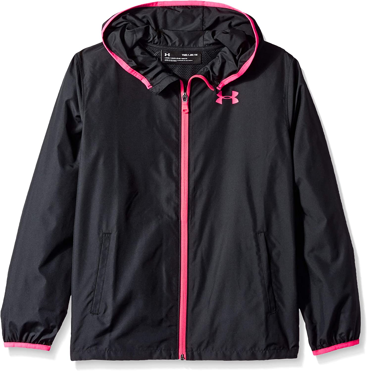 falso añadir Mal uso  Amazon.com: Under Armour girls Under Armour Girls Sack Pack Full Zip Jacket:  Clothing