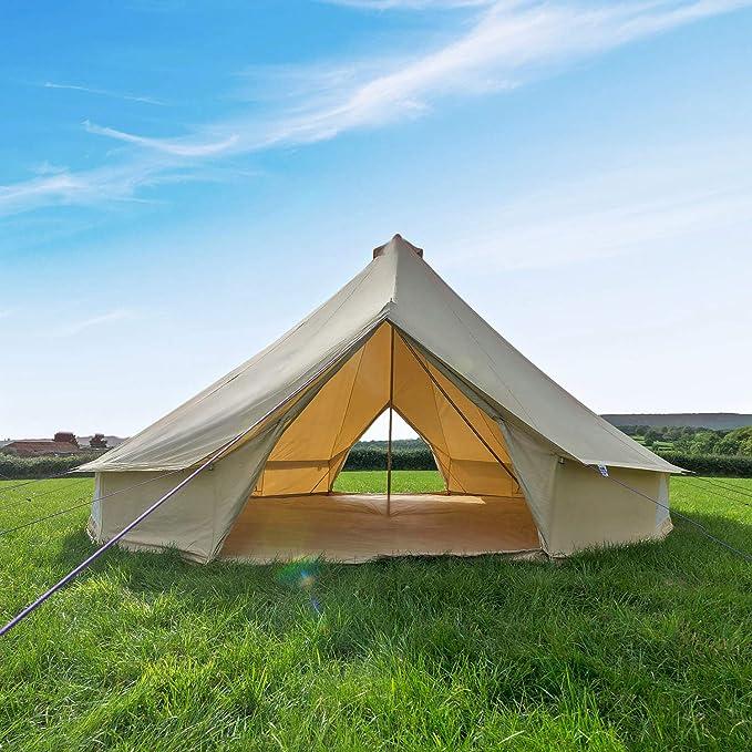 Boutique Camping XL 7 m tienda de Bell de arena con ...