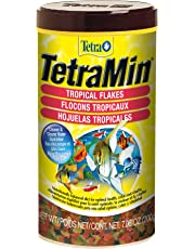 Tetra Tropical Flakes, Nutritional Formula Fish Food with Shrimp, 200g