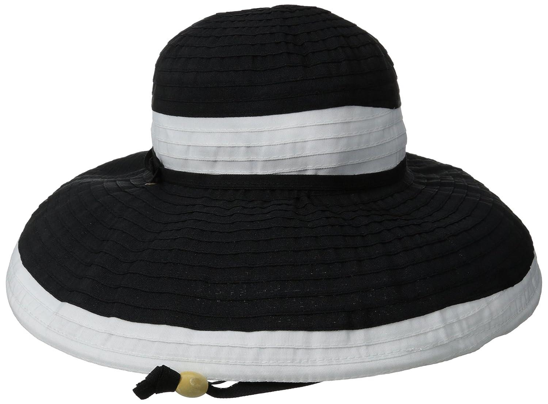 Physician Endorsed Women s Gemini Ribbon Chin Strap Packable Sun Hat ... 6900fe833527