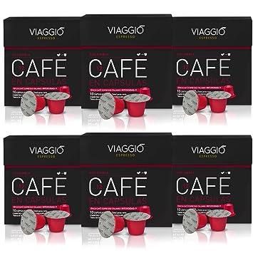 Viaggio Espresso - 60 Cápsulas De Café Compatibles Con Máquinas Nespresso - Colombia: Amazon.es: Amazon Pantry
