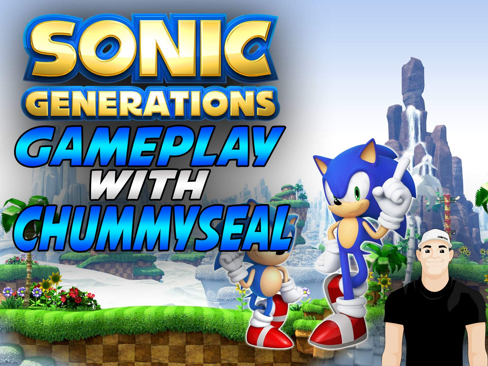 Amazon Com Watch Sonic Generations Gameplay With Chummy Seal Prime Video
