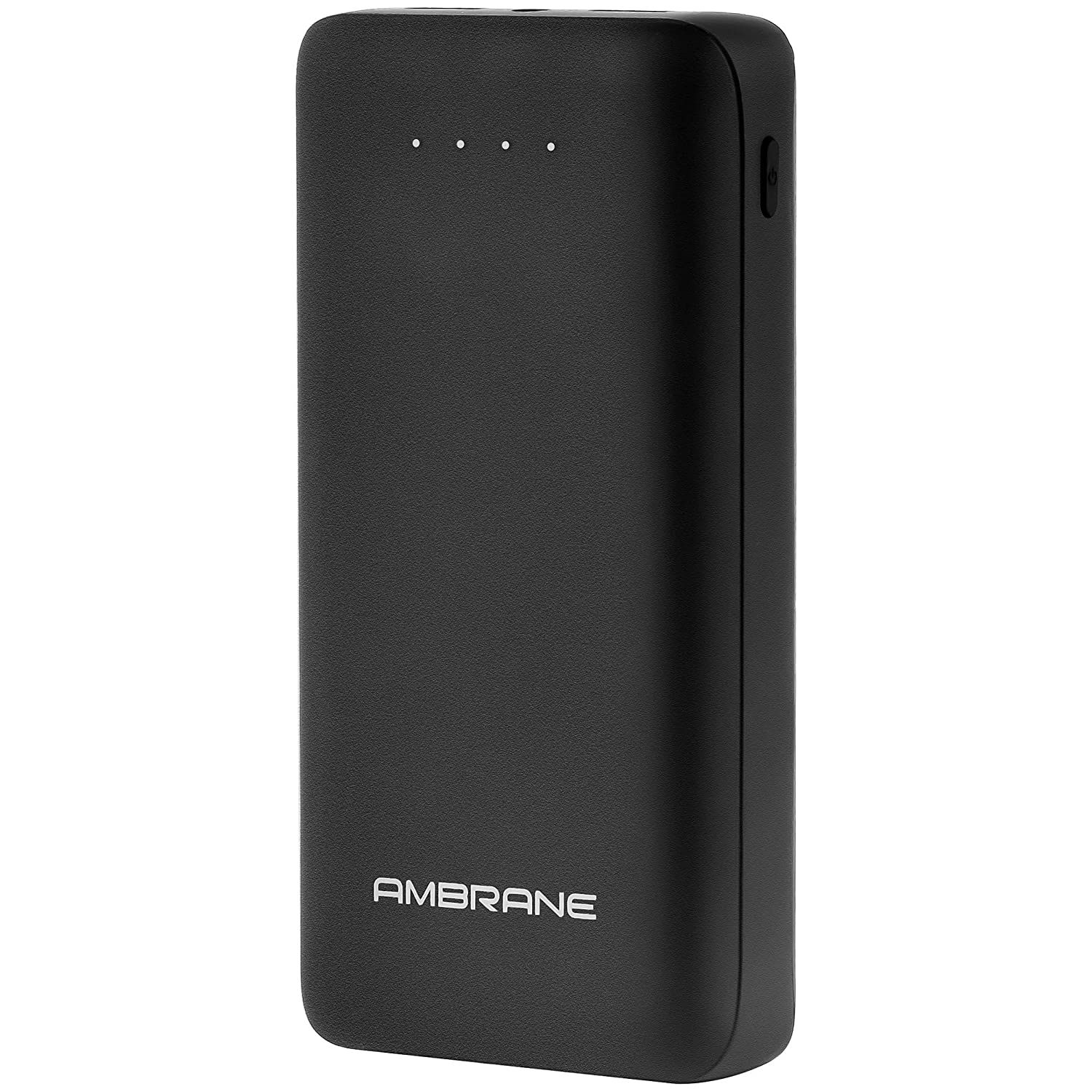 Ambrane 27000mAh Li-Polymer Powerbank with Type C and USB Ports | Fast Charging for Smartphones, Smart Watches, Neckbands & Other Devices (PP-30 Pro, Black)