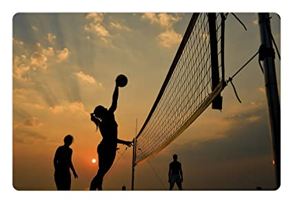 Image result for beach games sunset