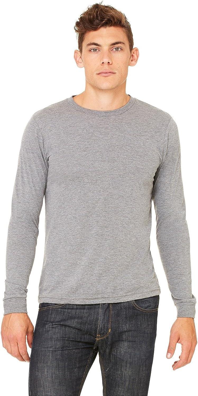 Bella + Canvas Men's Jersey Long-Sleeve T-Shirt