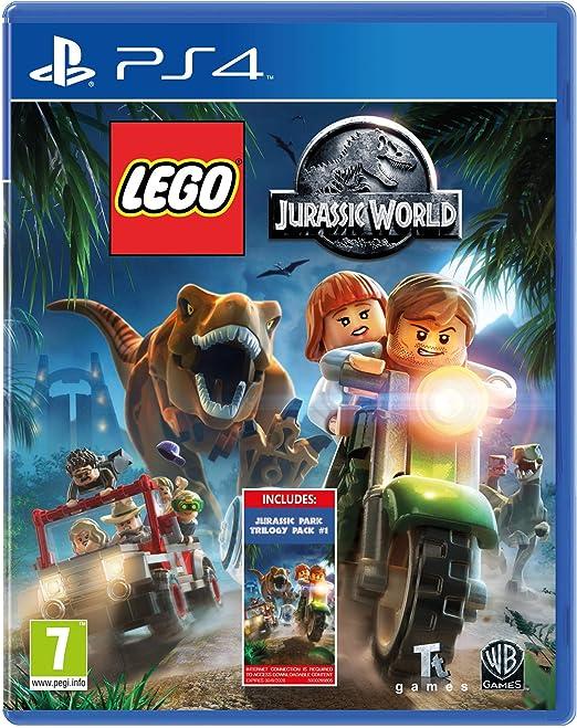 Lego Jurassic World - Amazon.co.UK DLC Exclusive (PS4)