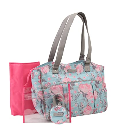 Buy Laura Ashley Floral Diaper Bag Online at Low Prices in India - Amazon.in d525e18a0a0d7