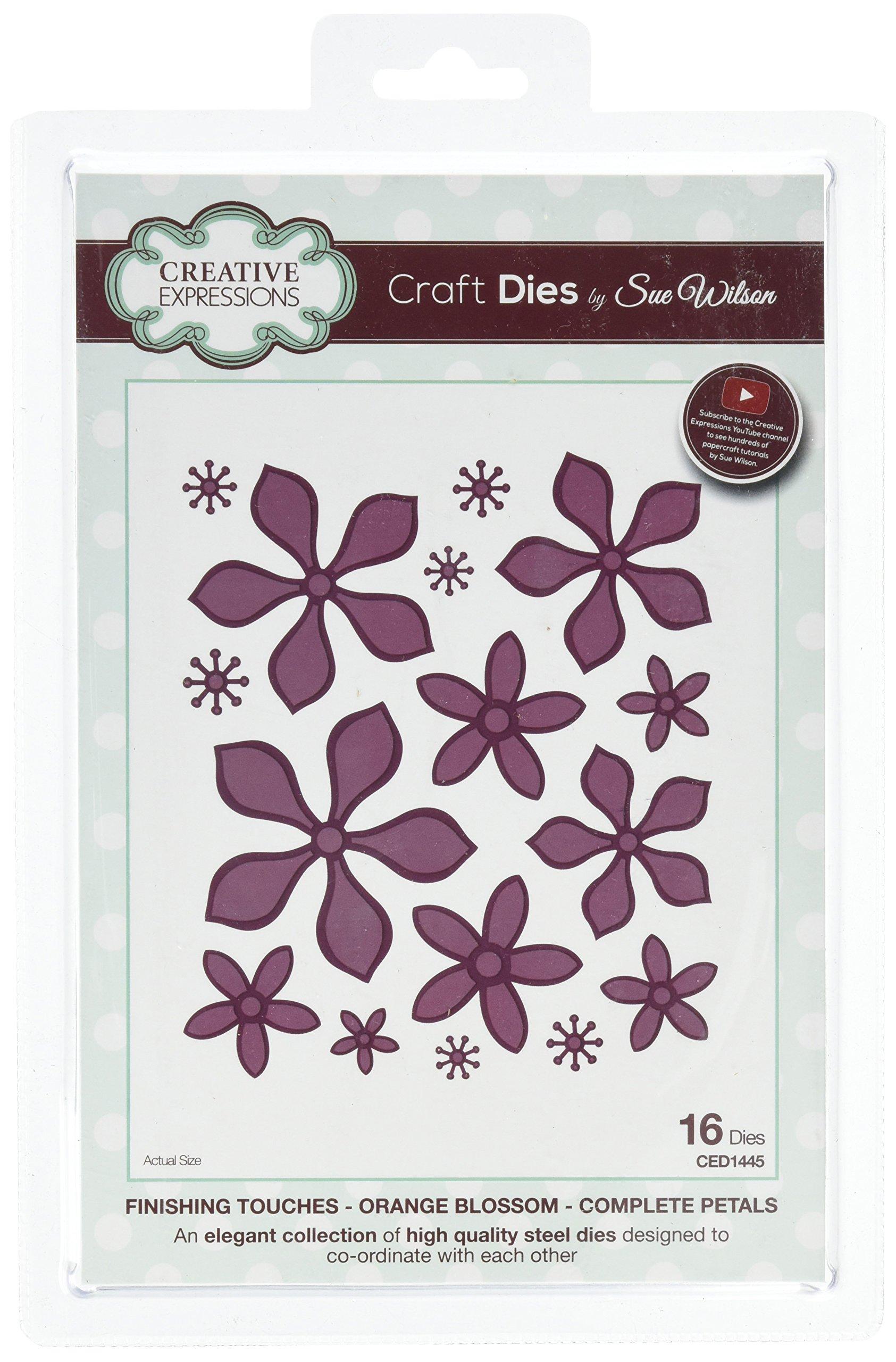 Sue Wilson Die-Orange Blossom-Complete Petals