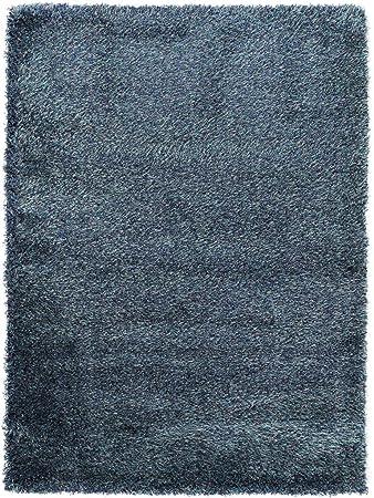 Benuta Shaggy Hochflor Teppich Sophie Blau 60x115 Cm Langflor