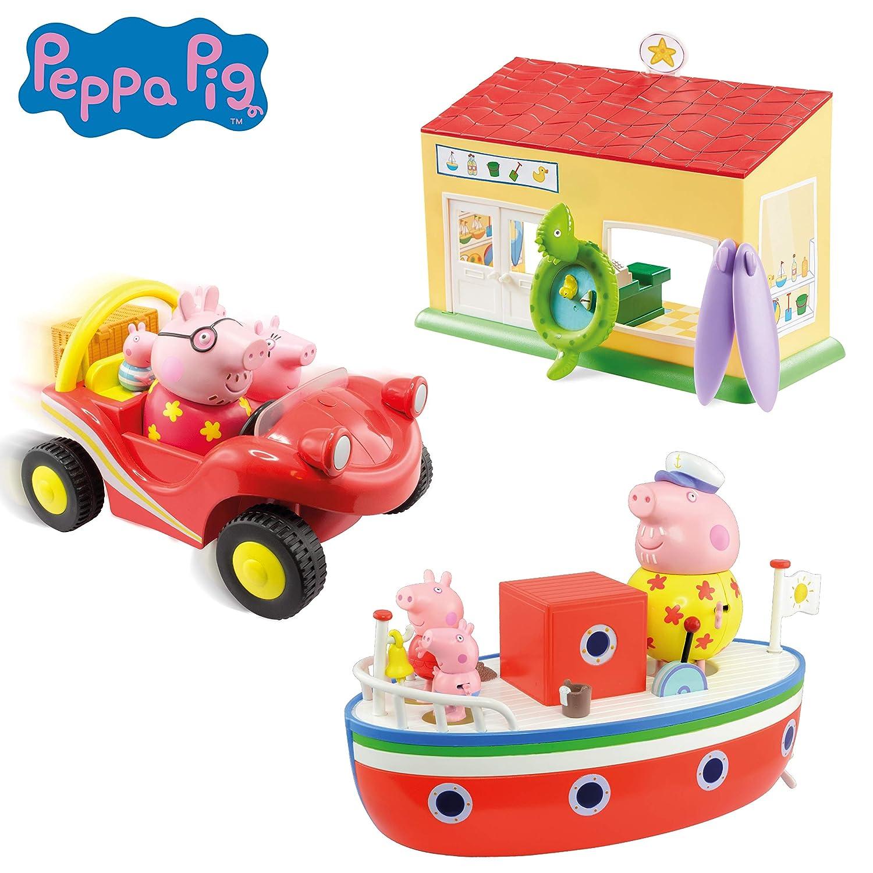 Peppa Pig 05678/Vacanza dal Mare Set Regalo