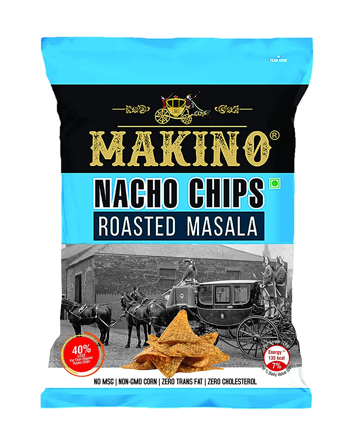 50% Off Deal – Makino Chips Roasted Masala, 200gm in Lowest Price
