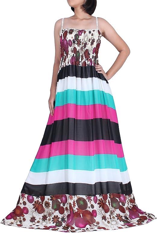 Extra Long Women Plus Size Summer Party Maxi Dress Lined Chiffon Sundress