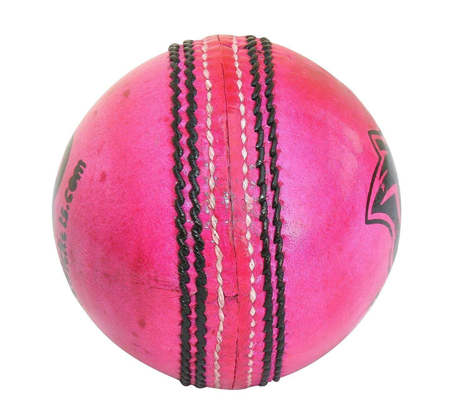 Leather Cricket Ball For Practice And Knocking Cricket Ball With Rope