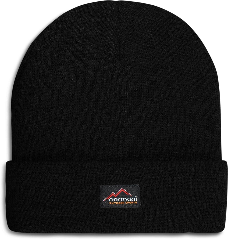 normani Wasserabweisende Wintermütze bis -30°C Kälte getestet wählbar One Size,Schwarz Farbe Schwarz MUE10-var