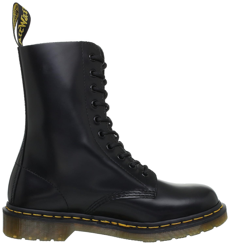 Dr. Martens Original 10 Eye Boot B000BNWOYQ 11 UK (US Men 12 M/Women 13 M)|Black Smooth