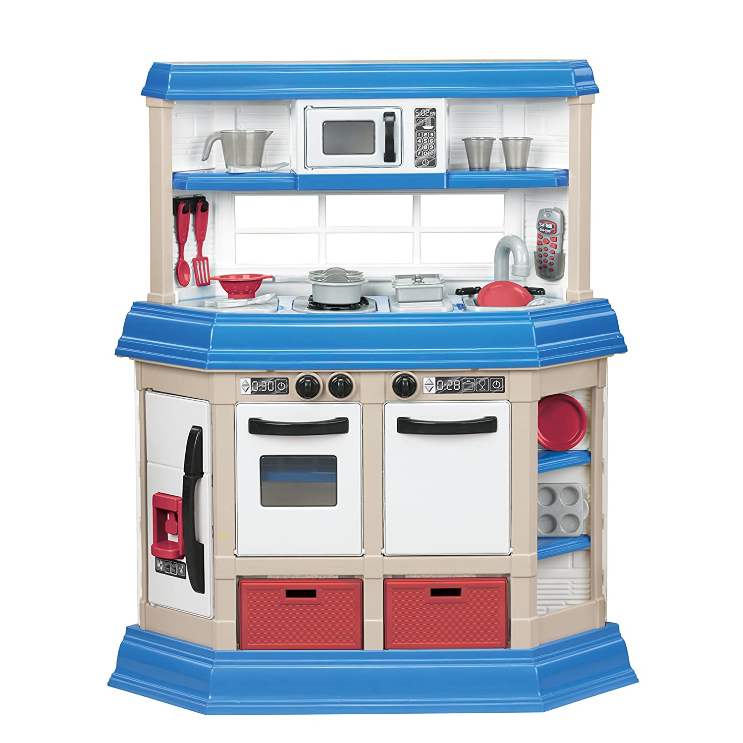 Amazon.com: American Plastic Toy Cookin\' Kitchen: Toys & Games