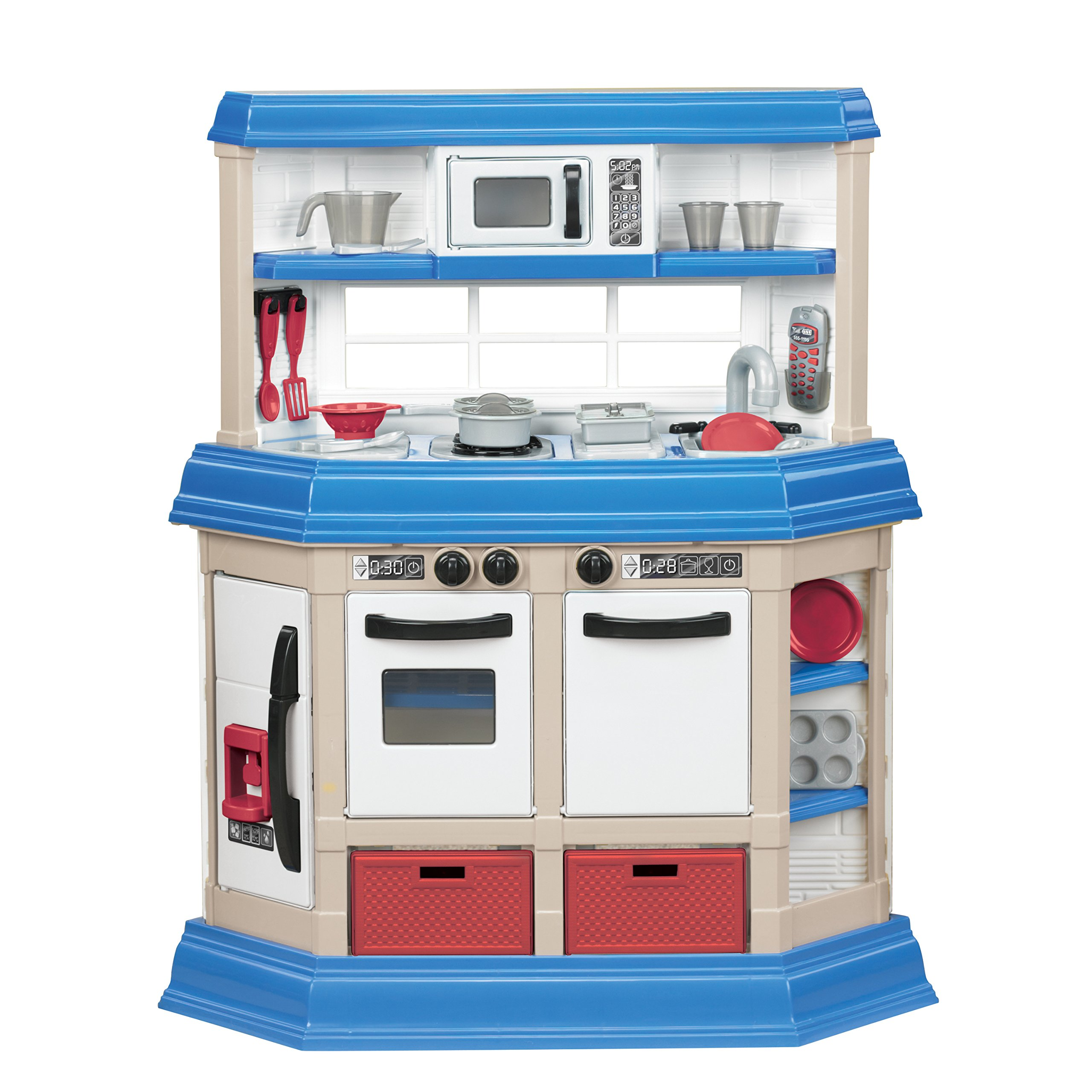 American Plastic Toys Cookin' Kitchen by American Plastic Toys (Image #1)
