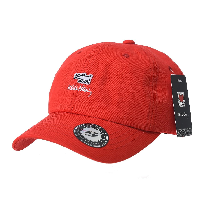 WITHMOONS Gorras de béisbol gorra de Trucker sombrero de Baseball Cap Keith  Haring Pop Art Print 6f59720168f
