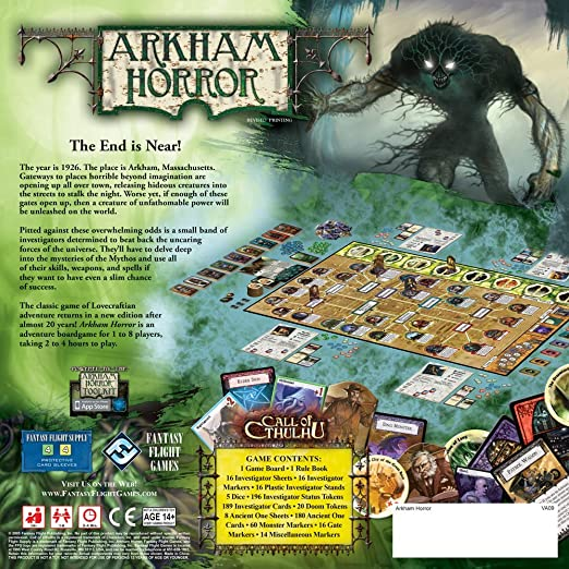 Amazoncom Arkham Horror Fantasy Flight Games Toys Games - 16 imaginative lego ads that celebrate the power of fantasy 2