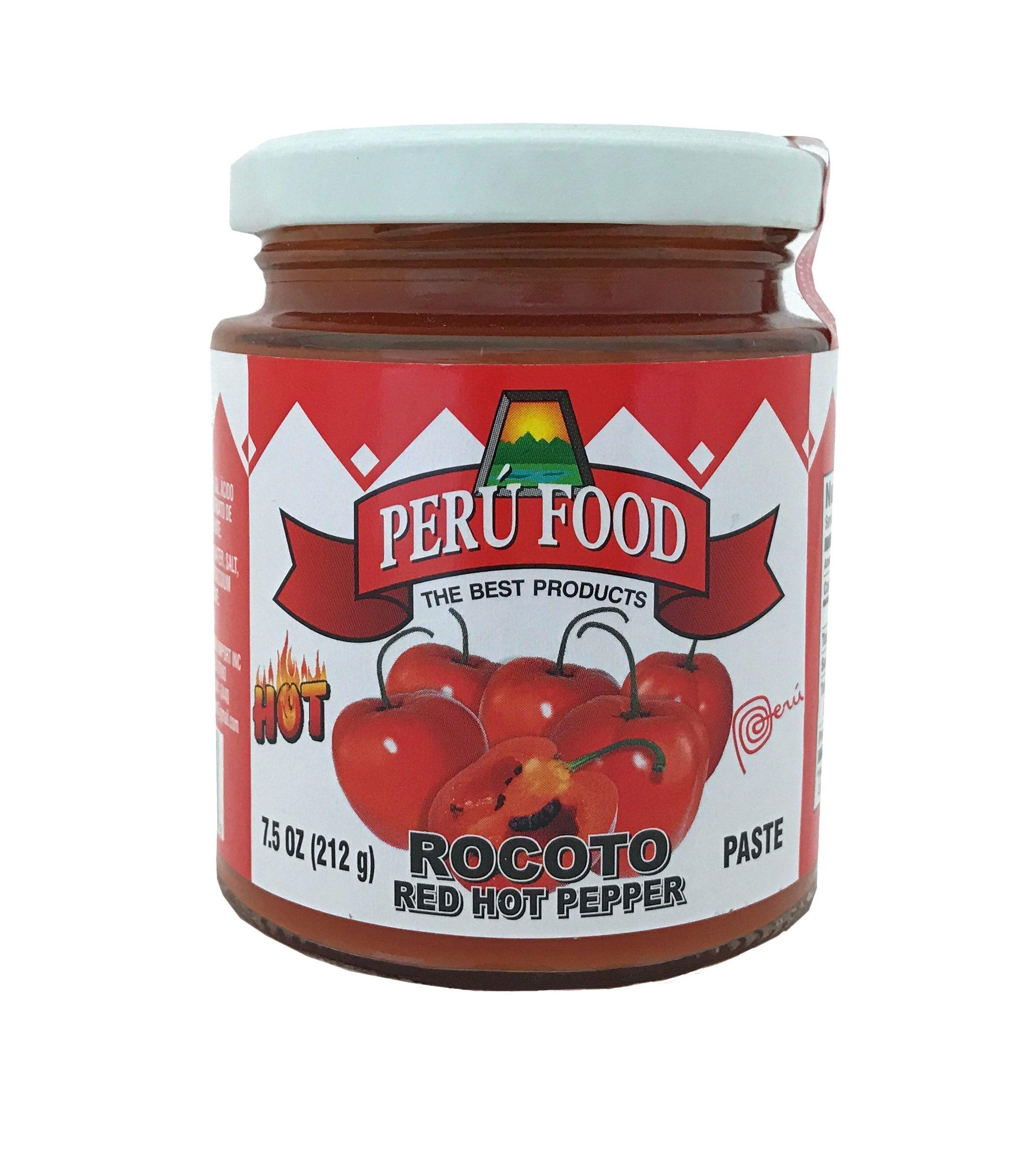 Peru Food - Rocoto (Red peppers) 7.5 oz. Product of Peru by PERU FOOD (Image #1)