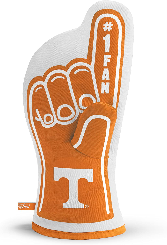 YouTheFan NCAA #1 Oven Mitt:13.25'' x 6.5'' Heat Resistant 100% Quilted Cotton Team Oven Mitt