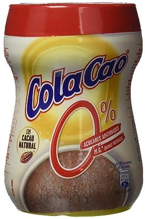 Cola-Cao - Polvo de cacao, 0% azúcares, 300 g - [