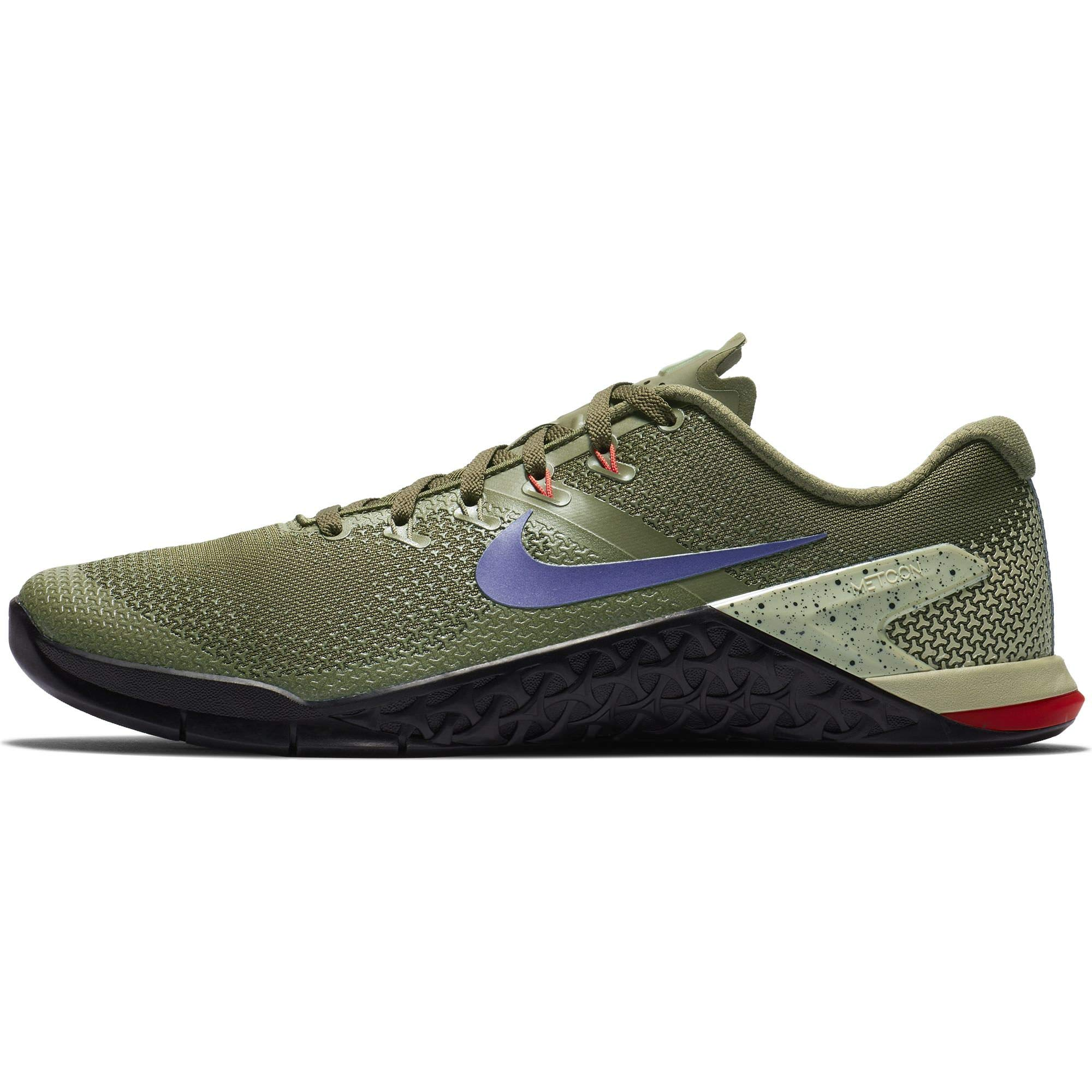 9bff448fcd0 Galleon - Nike Men s Metcon 4 Training Shoe Olive Canvas Indigo Burst Black  Size 8.5 D US