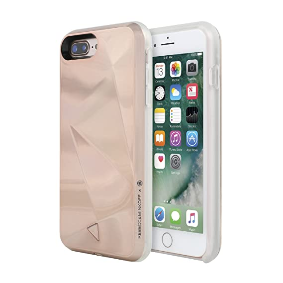 best website 856ad 4cd15 Rebecca Minkoff You Glow, Girl Case for iPhone 8 Plus & iPhone 7 Plus -  Rose Gold