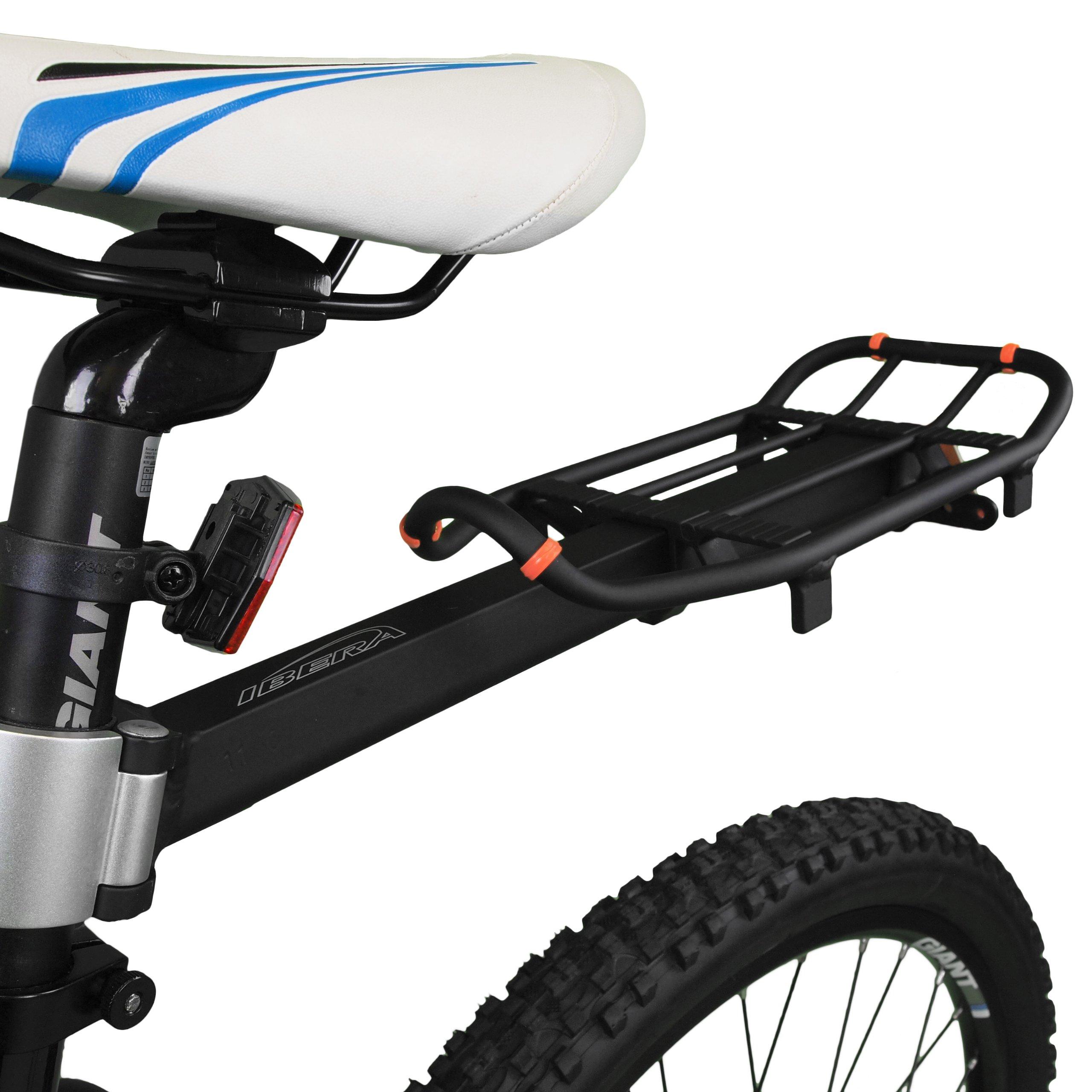 Ibera PakRak Mini Commuter Bicycle Carrier Rack