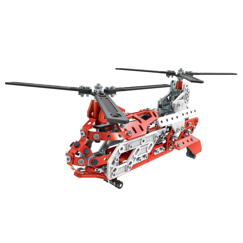 MECCANO Helicopter Multi Modello da 20-Elicottero, 6028598