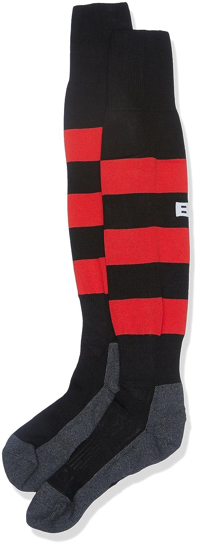 BLK 420330007 Chaussettes Mixte Noir/Rouge FR (Taille Fabricant : 37-40) BLKA8|#BLK