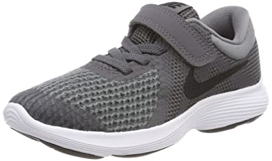 Nike Boys Revolution 4 (PSV) Running Shoe, Dark Black-Cool Grey