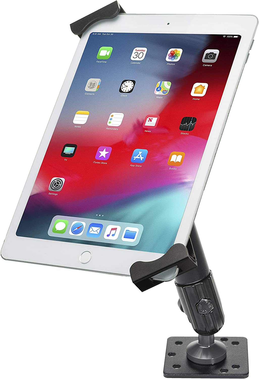 CTA Digital: Security Vehicle Dashboard Mount for 7-14 Inch Tablets, Including iPad 10.2-inch (7th & 8th Generation), iPad Mini, 12.9-Inch iPad Pro, 11-Inch iPad Pro, Galaxy Tab S3 & More