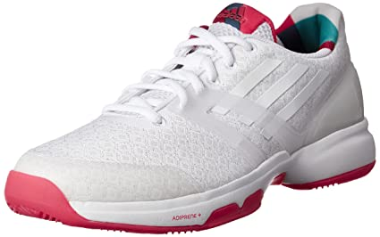 Adidas Chaussures Femme Adizero Ubersonic w BlancFramboise