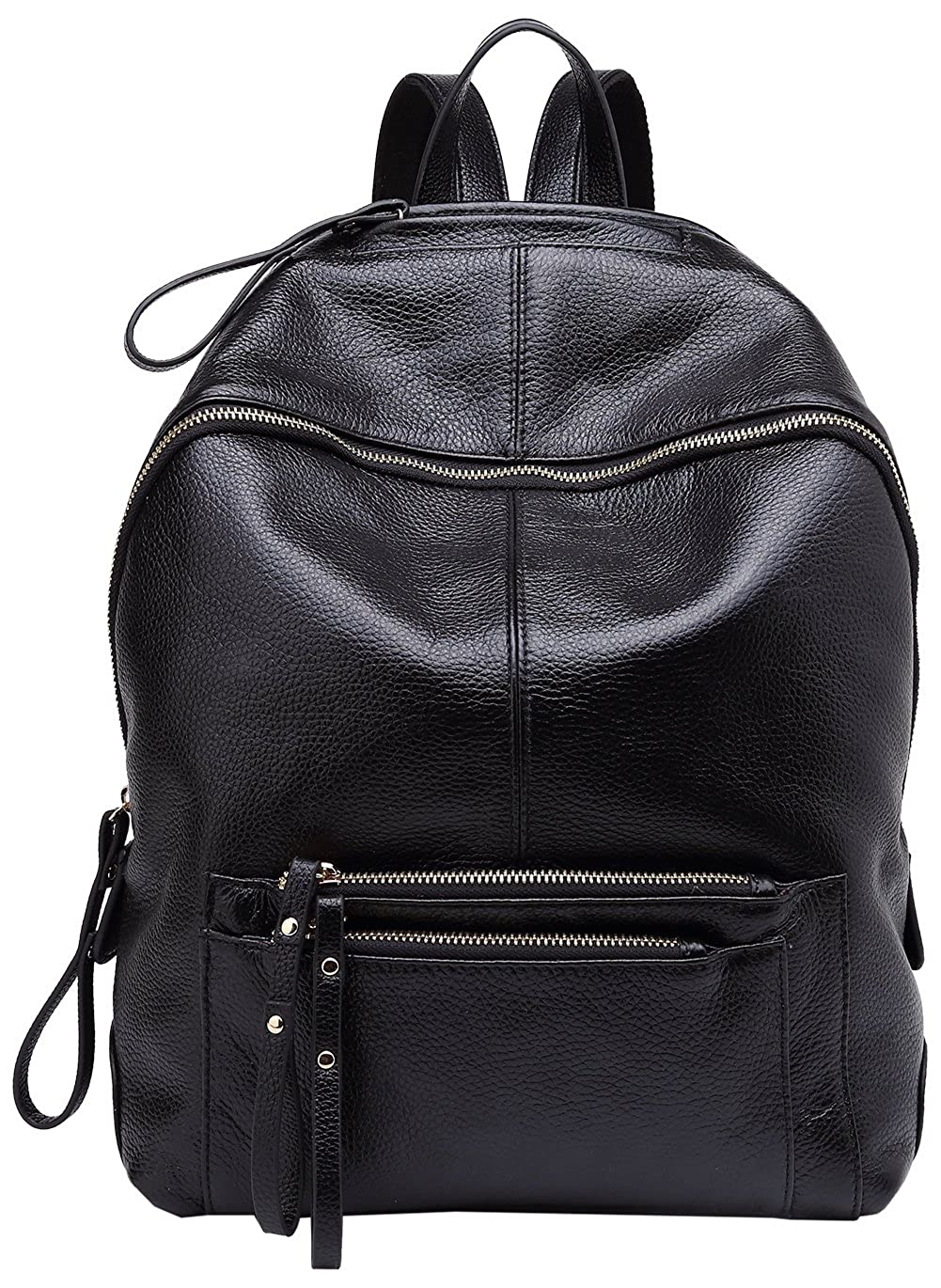 BOYATU Genuine Leather Backpack for Women Large Capacity Travel Bag Casual Purse 735181100