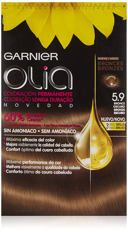 Garnier Olia Coloración Permanente sin Amoniaco, Tono: 6.60 Rojo Intenso 3600541234970