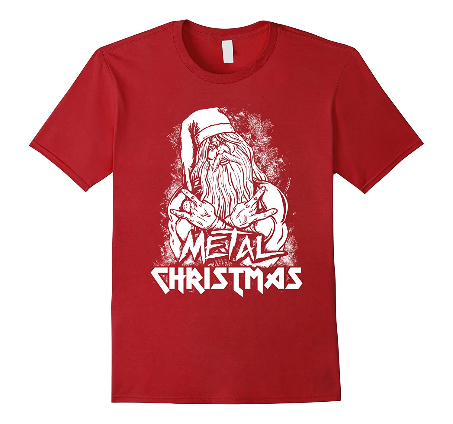 Amazon.com: Metal Christmas Shirt - Cool Christmas Gift Ideas: Clothing