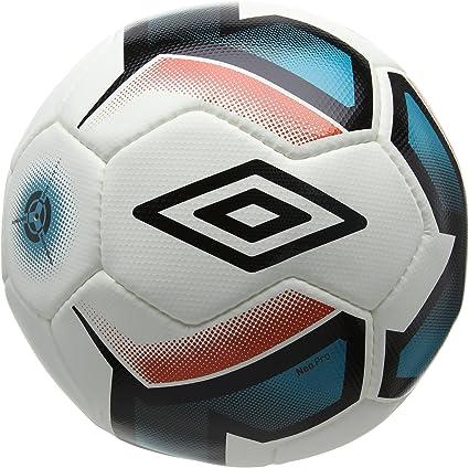 Umbro Neo – Balón de fútbol, Color Blanco/Negro/Bluebird/Grenadine ...
