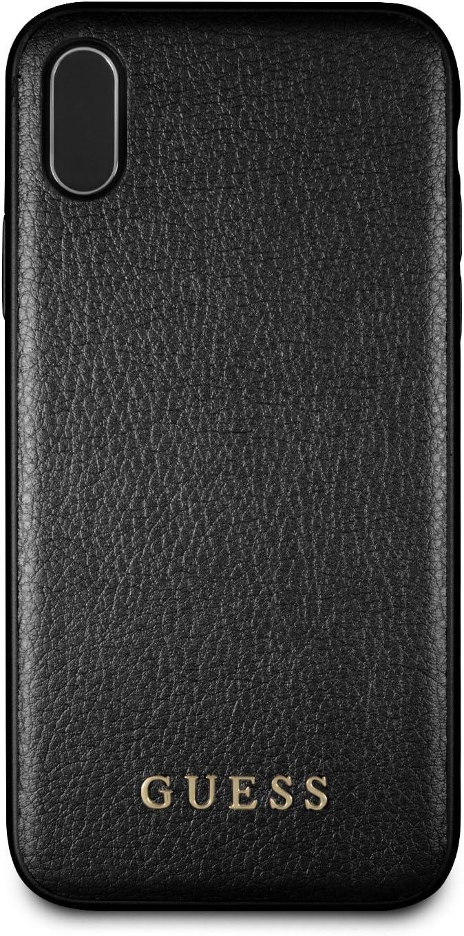 Guess Iridiscente - Estuche para Apple iPhone X, color negro: Amazon.es: Electrónica