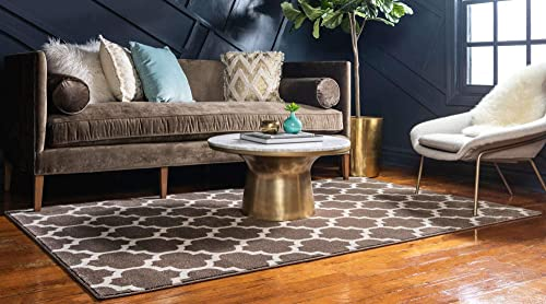 Well Woven Traverse Stripes Grey Geometric Modern Lines Accent Area Rug 4×5 3 11 x 5 3 Carpet