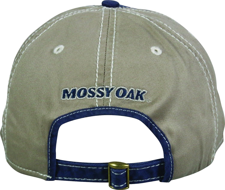 Al aire libre gorra Hombre Mossy Oak Casual Cap talla /única azul marino//marr/ón