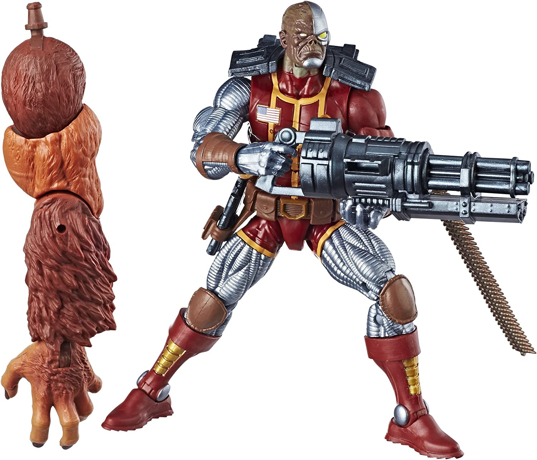 "100/% Hasbro Marvel Legends 6/"" Action Figure Back in Black Deadpool NEW UK"